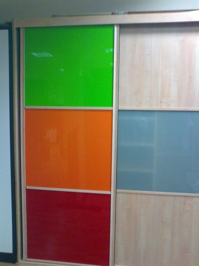 armario empotrado colores