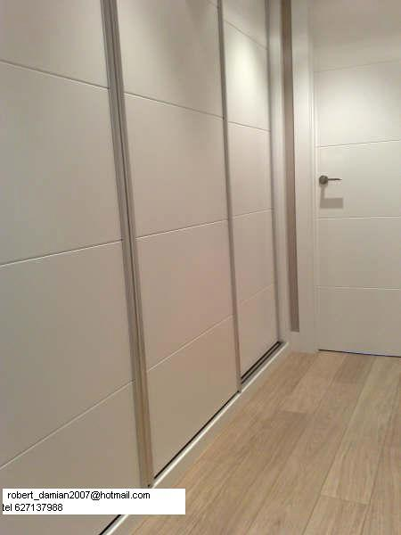 armario empotrado,puerta de paso ,colocacion tarima flotante