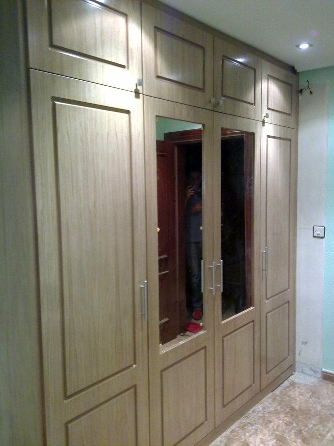 Foto armario entrada de carpinteria ebanisteria santa - Armarios de entrada ...