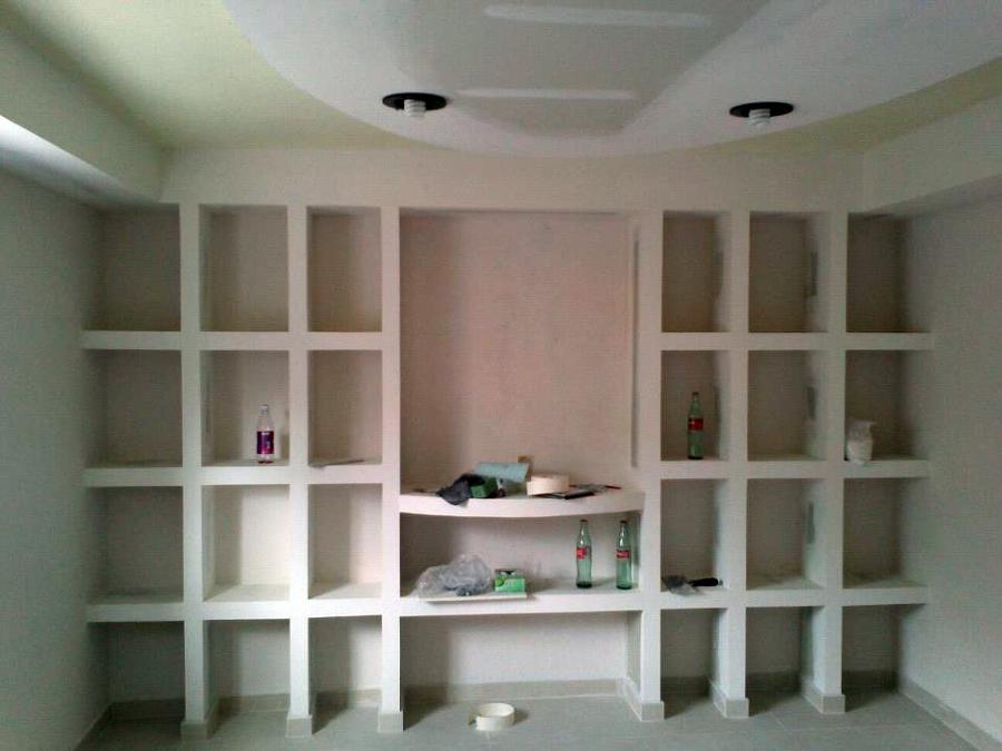 Foto armario estanteria pladur de placomex 472477 - Estanterias pladur ...