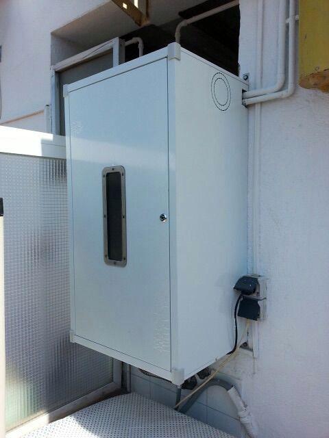 Casas cocinas mueble armario para exterior for Armario para balcon exterior