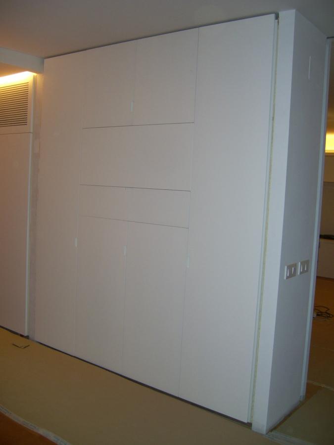 Foto armario lacado en blanco de carpinteria daniel - Armario lacado blanco ...
