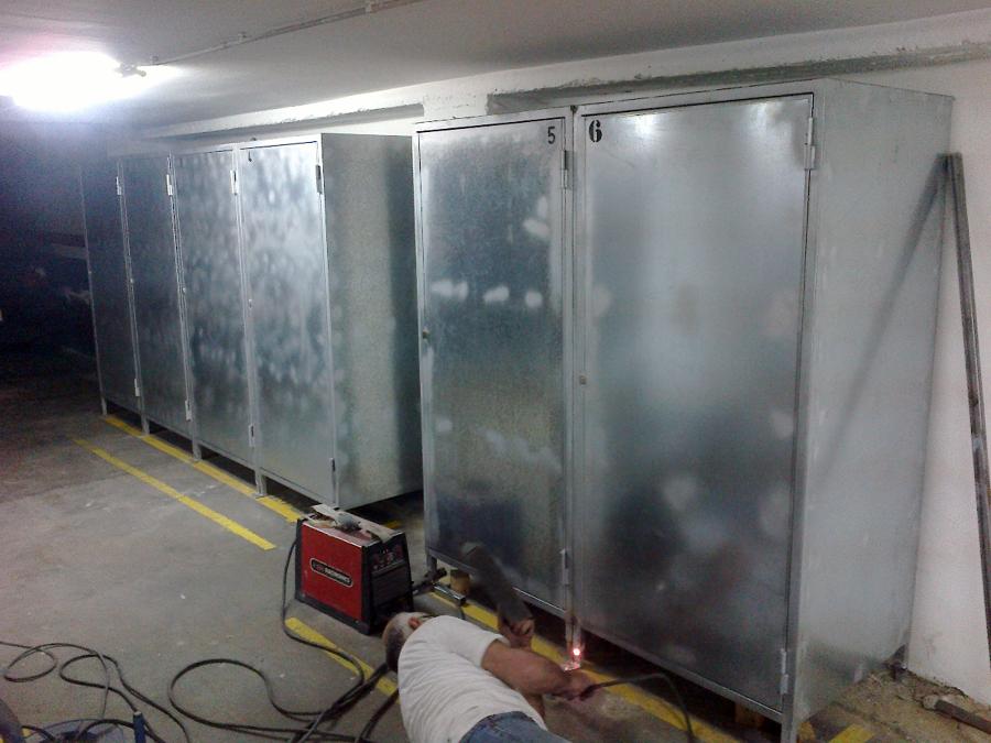 Foto armario para garage de cerrajeria miguel navarro - Armario para garaje ...