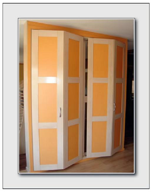 Foto armario plegable a medida modelo nazari 3 armario - Armario puertas plegables ...