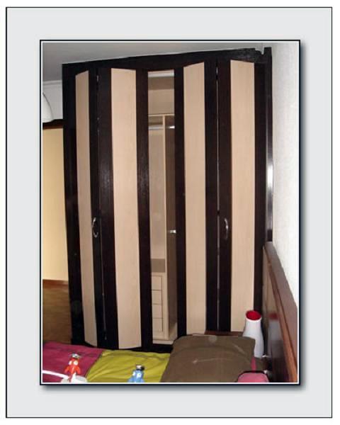 Foto armario plegable a medida modelo teleno armario con - Fabrica de puertas plegables ...