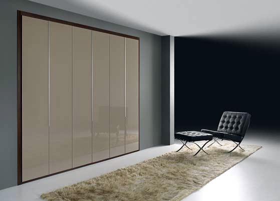 Foto armario puertas cristal moka de muebles rymo s l - Armarios de cristal ...