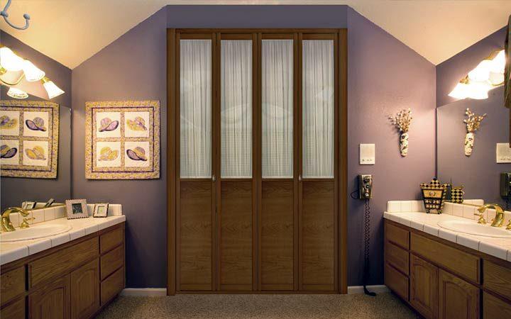 Foto armario puertas plegables de muebles carriles - Armario puertas plegables ...