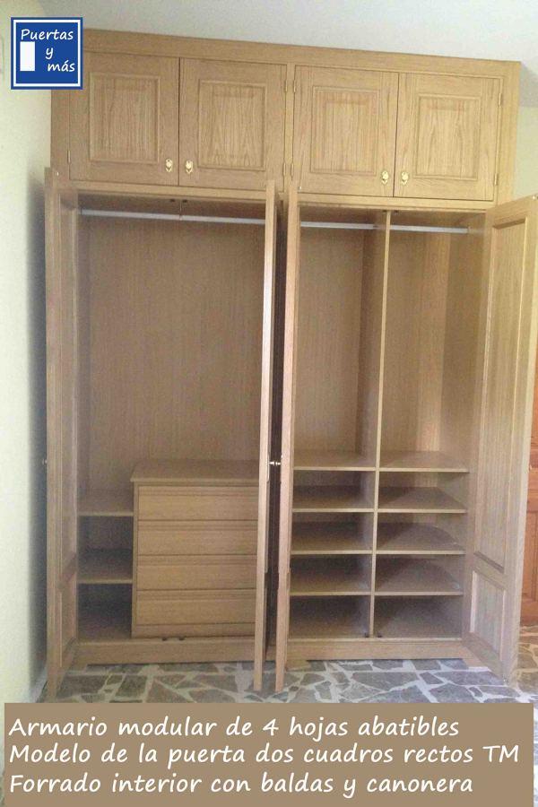 Foto armario vestido por dentro de puertas y mas 583243 - Armarios por dentro ...