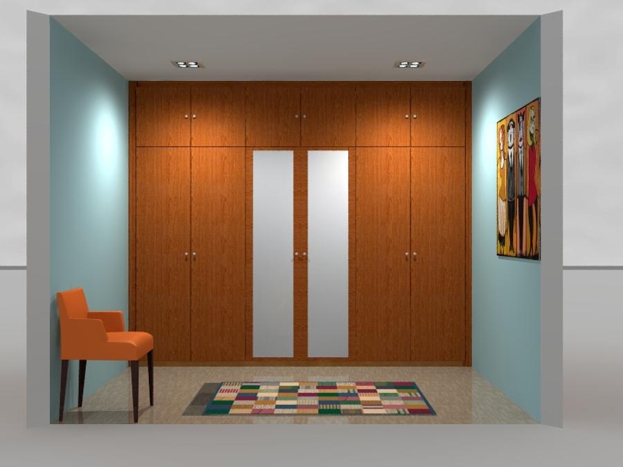 diseño 3D de armarios e interiores de armario