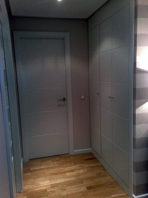 Foto armarios y puertas lacado blanco de jumipuertas s l - Armario blanco lacado ...