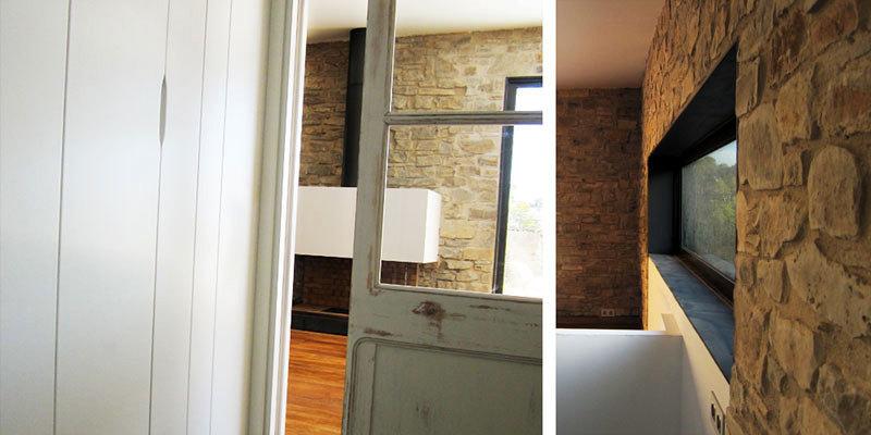 raddi ARQUITECTES Arquitectura, reforma de almacén para adaptarlo a vivienda unifamiliar