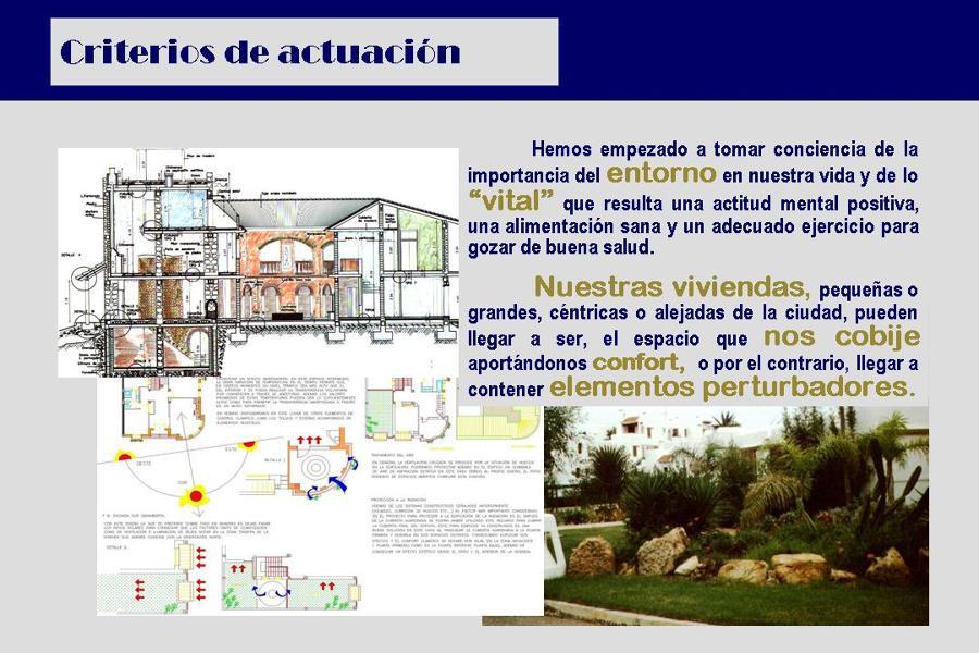 Arquyma. Arquitectura y Medioambiente. Criterios de actuación