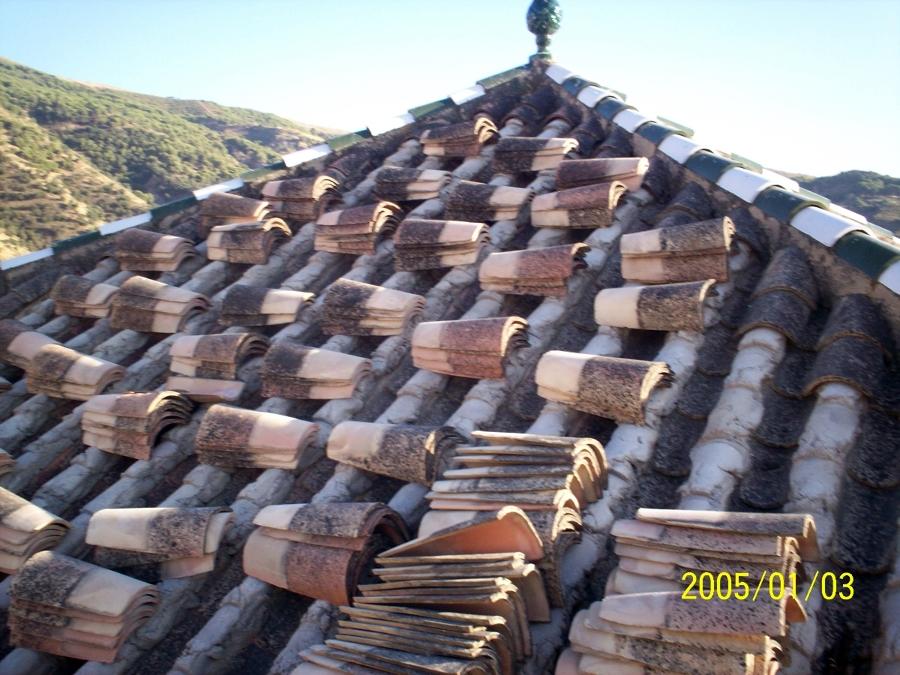 foto arreglo de tejado de mantenimiento de comunidades