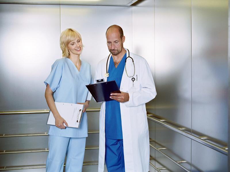 Ascensores de uso Sanitario