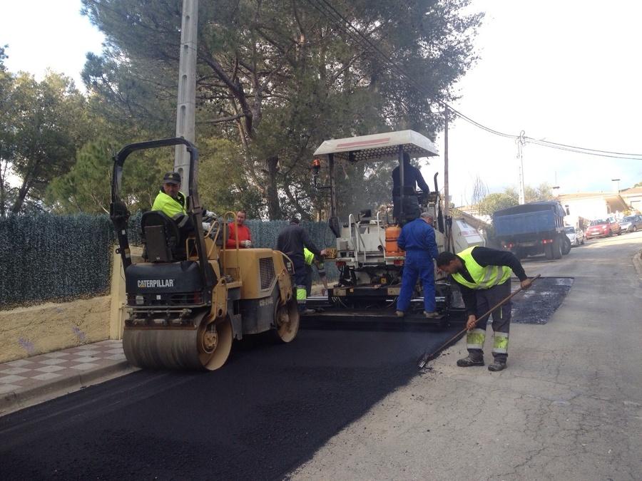 Equipo de asfaltado para pequeños trabajos