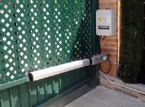 Automatizacion de puertas batientes