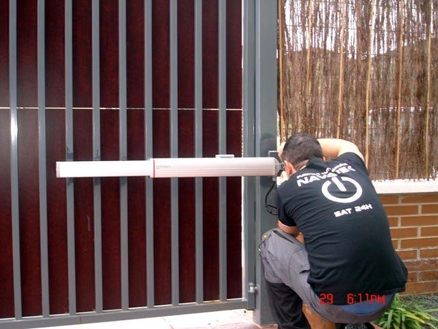 Automatizacion de puertas Navatek
