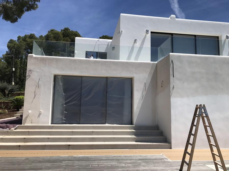 Pintura fachada vivienda