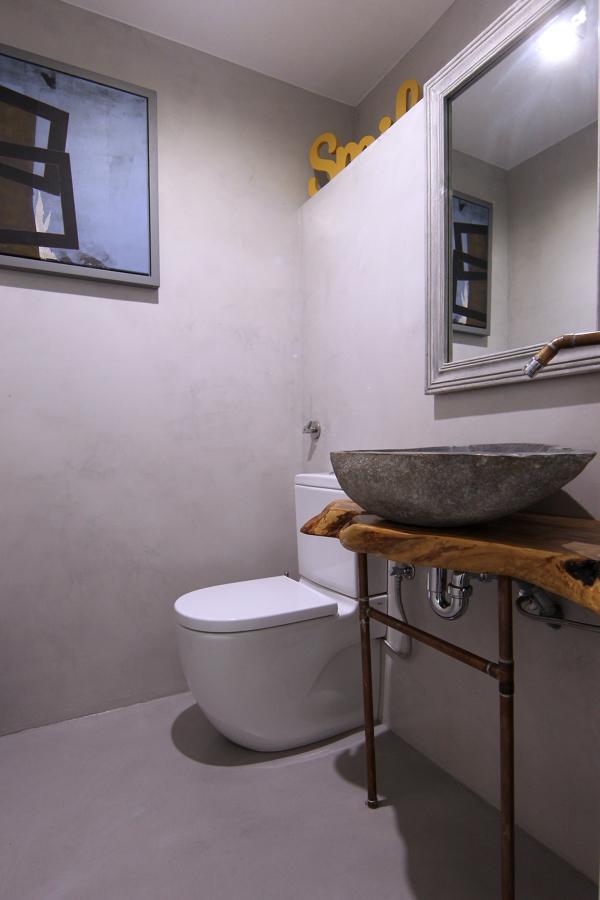 Reforma baño en local comercial