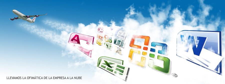 Ofimatica de la empresa en la nube
