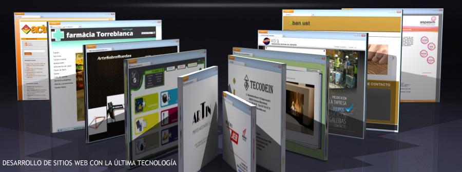 Desarrollo de sitios web y aplicaciones