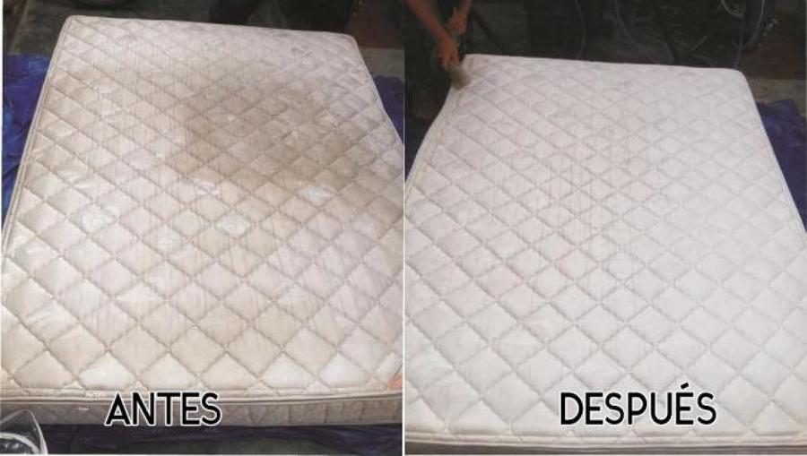 Colchón antes y después