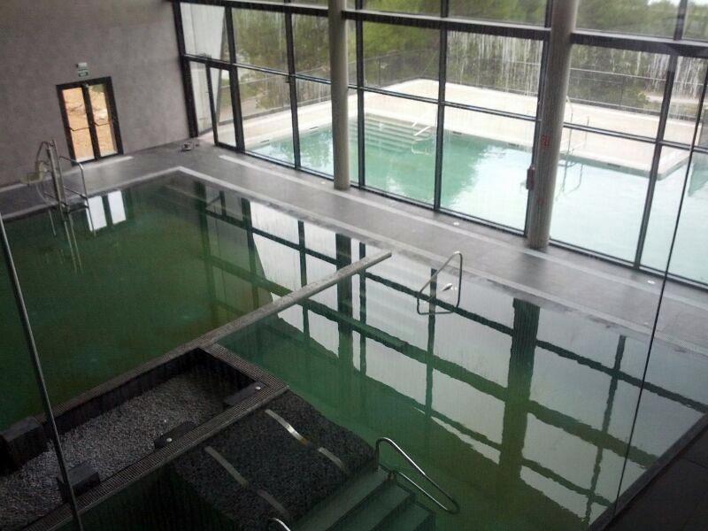 Balneario de Zújar_piscinas