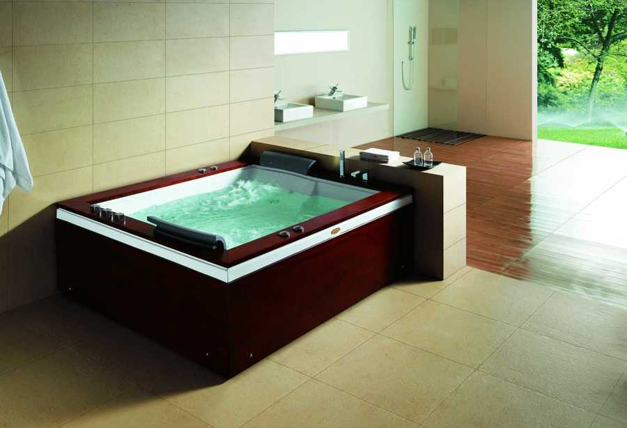 Bañera de hidromasaje jacuzzi AT-004
