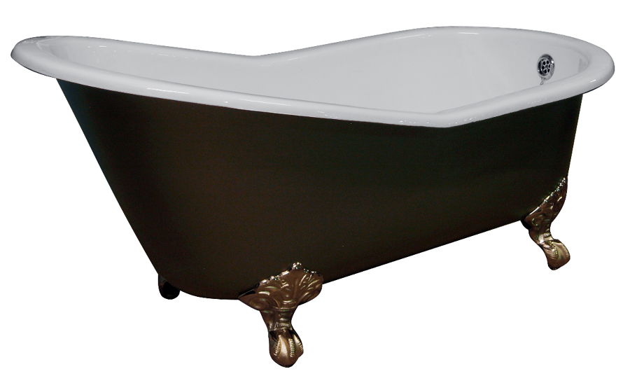 Foto ba era de hierro fundido modelo single high slipper for Banera hierro fundido