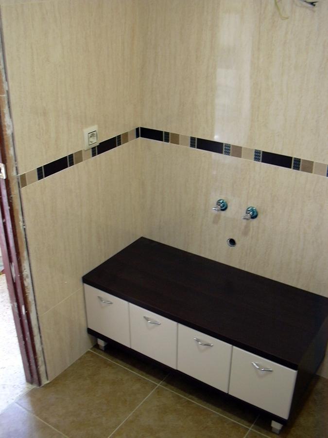Azulejos Baño Juvenil:Baño azulejo crema