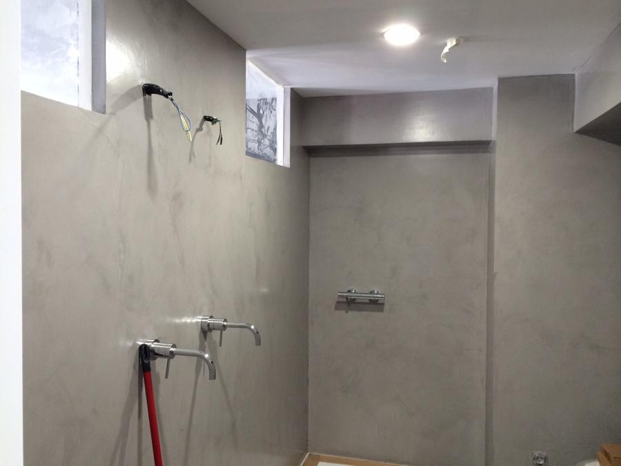 Baños Con Tina De Cemento:Foto: Baño Cemento Pulido de Toño Ansuriza Diseño Interiores