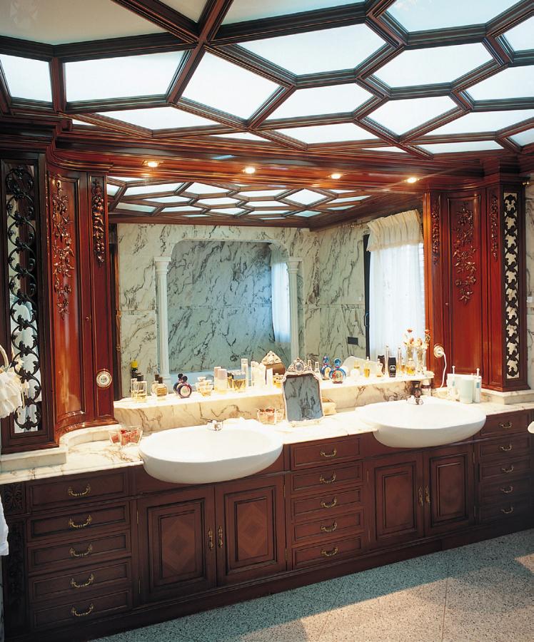 Baño clásico a medida