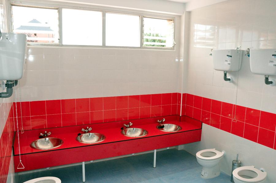 Baño Escuela Infantil:Uno de los baños de infantil del colegio josé bergamín gutérrez