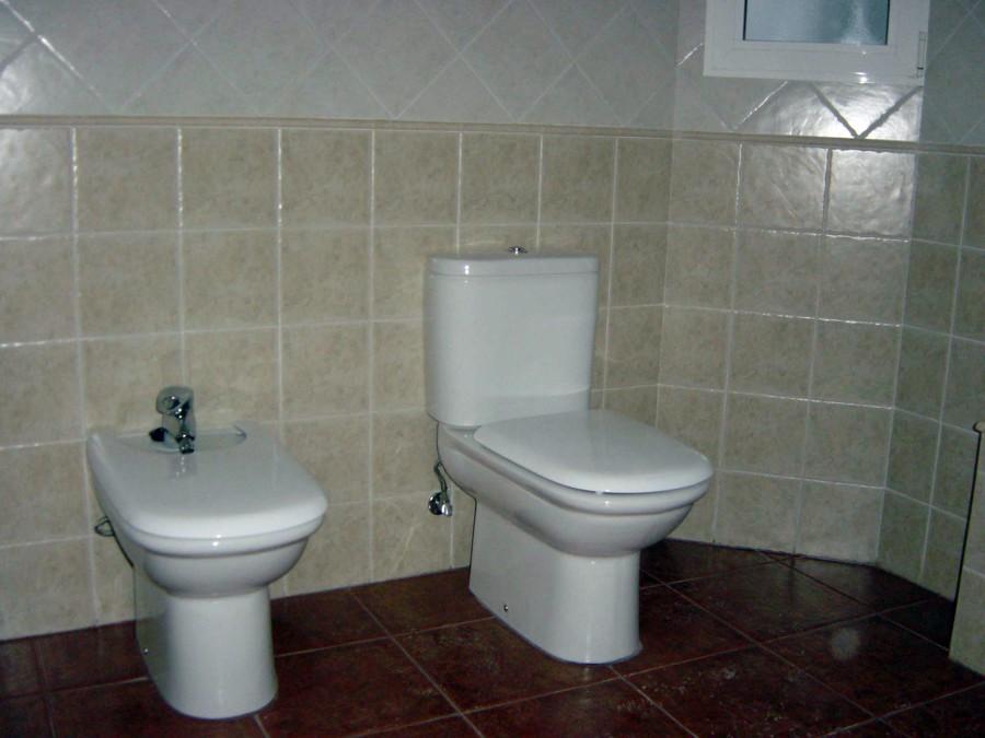 Foto ba o con azulejos 20x20 de construcciones molina for Azulejos banos rusticos fotos