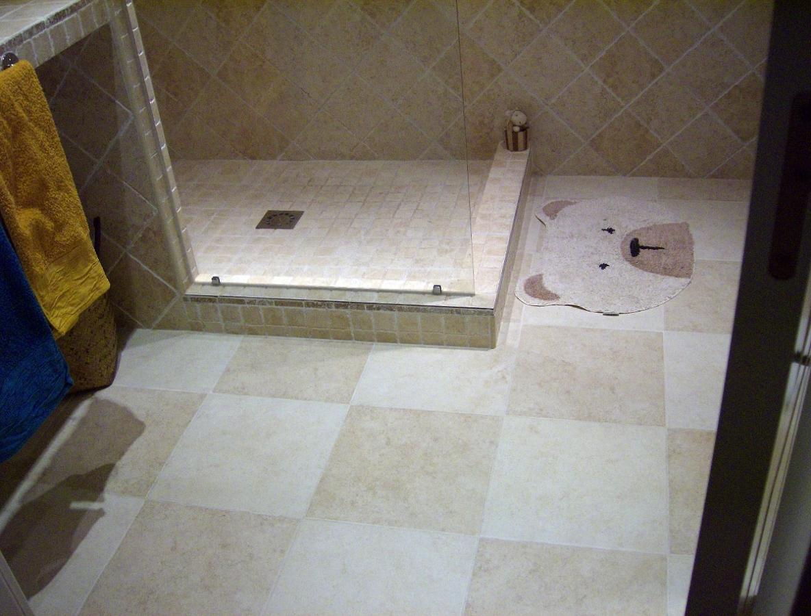 Baño Con Ducha De Obra:Baño con ducha de obra , substitución de bañiera fontaneria
