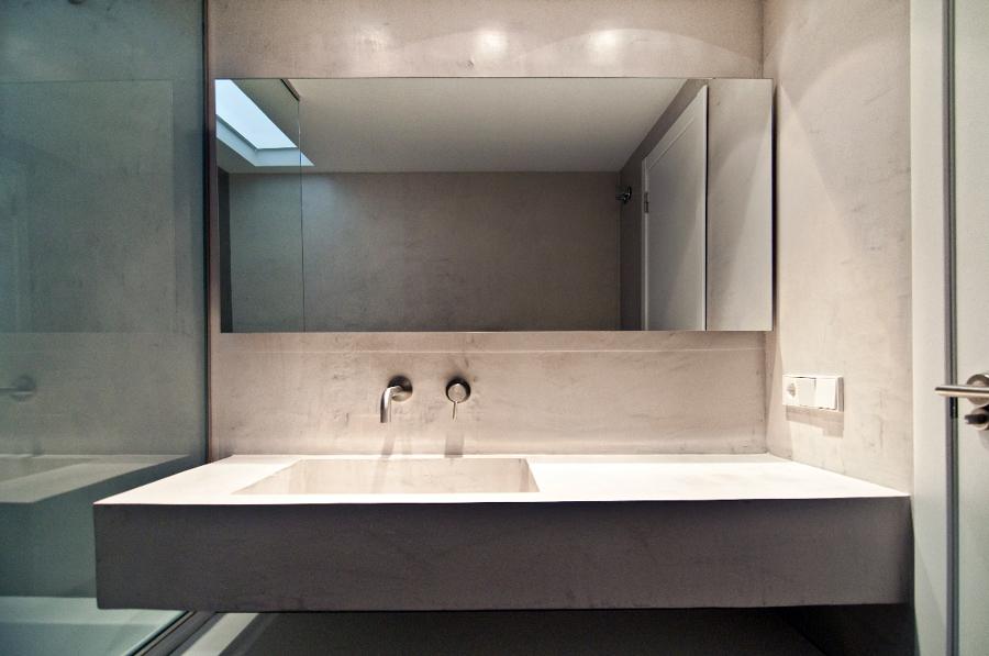 Foto ba o de microcemento de areaarquitectura design - Bano con microcemento ...