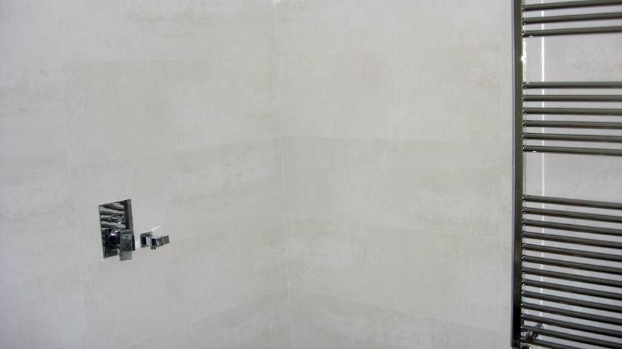 Foto ba o de porcelanosa baldosa de 100x40 cm de - Baldosas bano porcelanosa ...