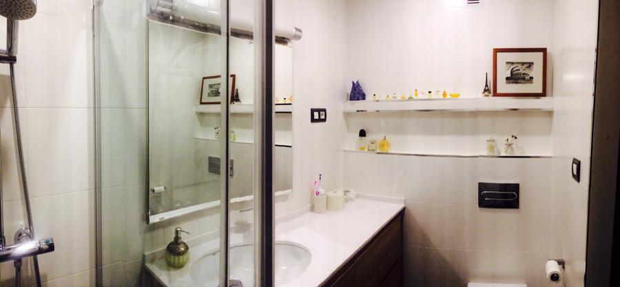 Reforma integral cuarto de baño Vizcaya