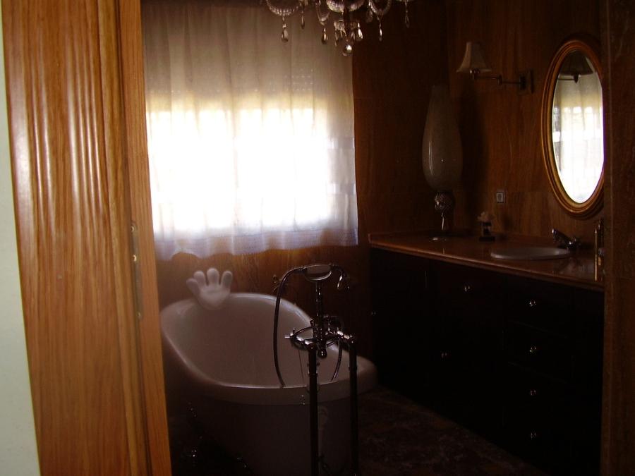 Foto ba o en m rmol travertino amarillo de m rmoles hidalgo sl 397546 habitissimo - Banos con marmol travertino ...