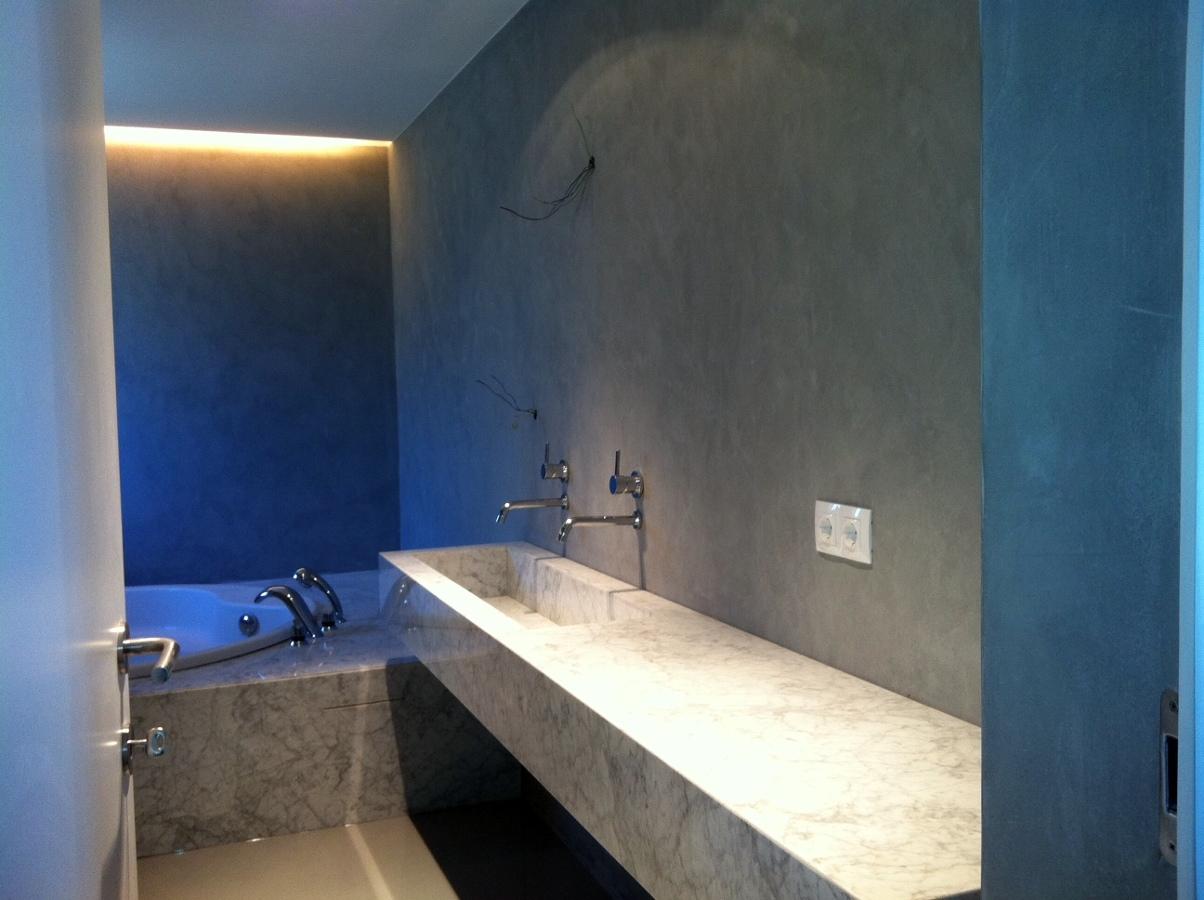 Tinas De Baño De Concreto:Foto: Baño en Micro Cemento de Multiasistencia el Tietar #222185