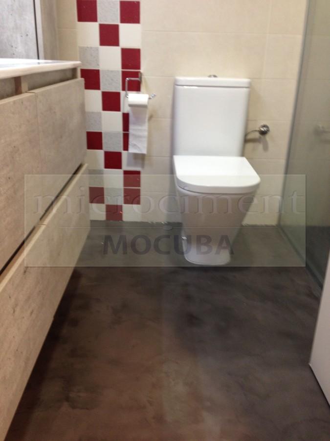 Foto: Baño Microcemento de Shaco Mocuba #694346 - Habitissimo