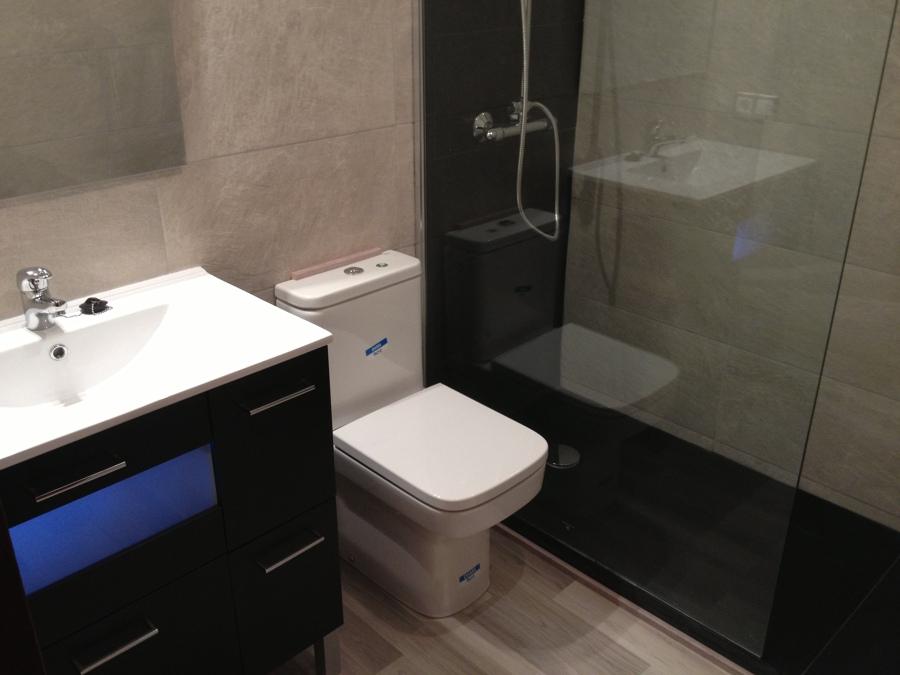 Baño Plato ducha pizarra