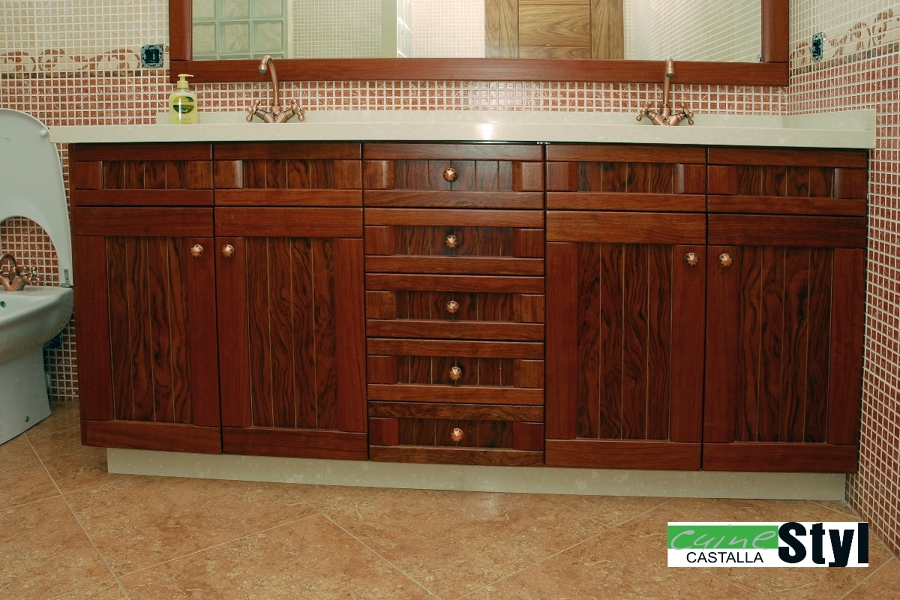 Foto ba o r stico de muebles de cocina cuinetyl 317281 - Muebles de banos rusticos ...