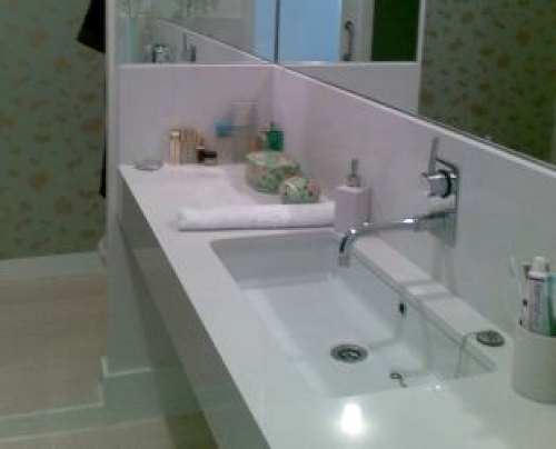 Foto ba o sin azulejos de loft reform 367035 habitissimo - Banos pintados sin azulejos ...