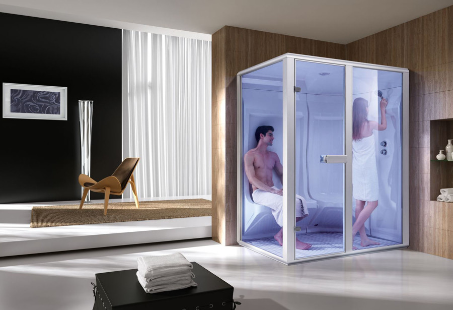 Sauna húmeda / Baño turco / Hammam modelo AS-001C