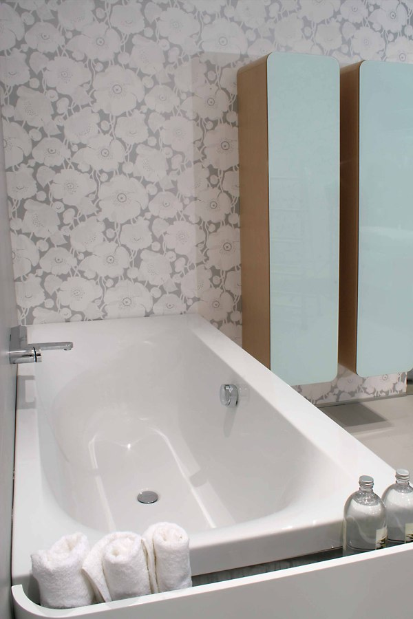 Baños empapelados