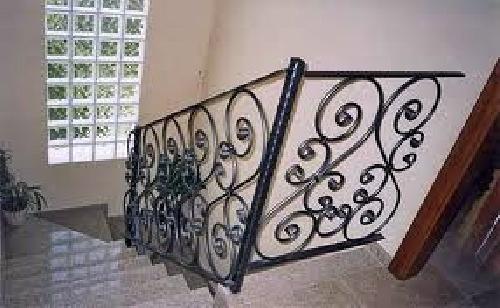 Foto barandas de escaleras forja de carpinter a met lica - Baranda de forja ...