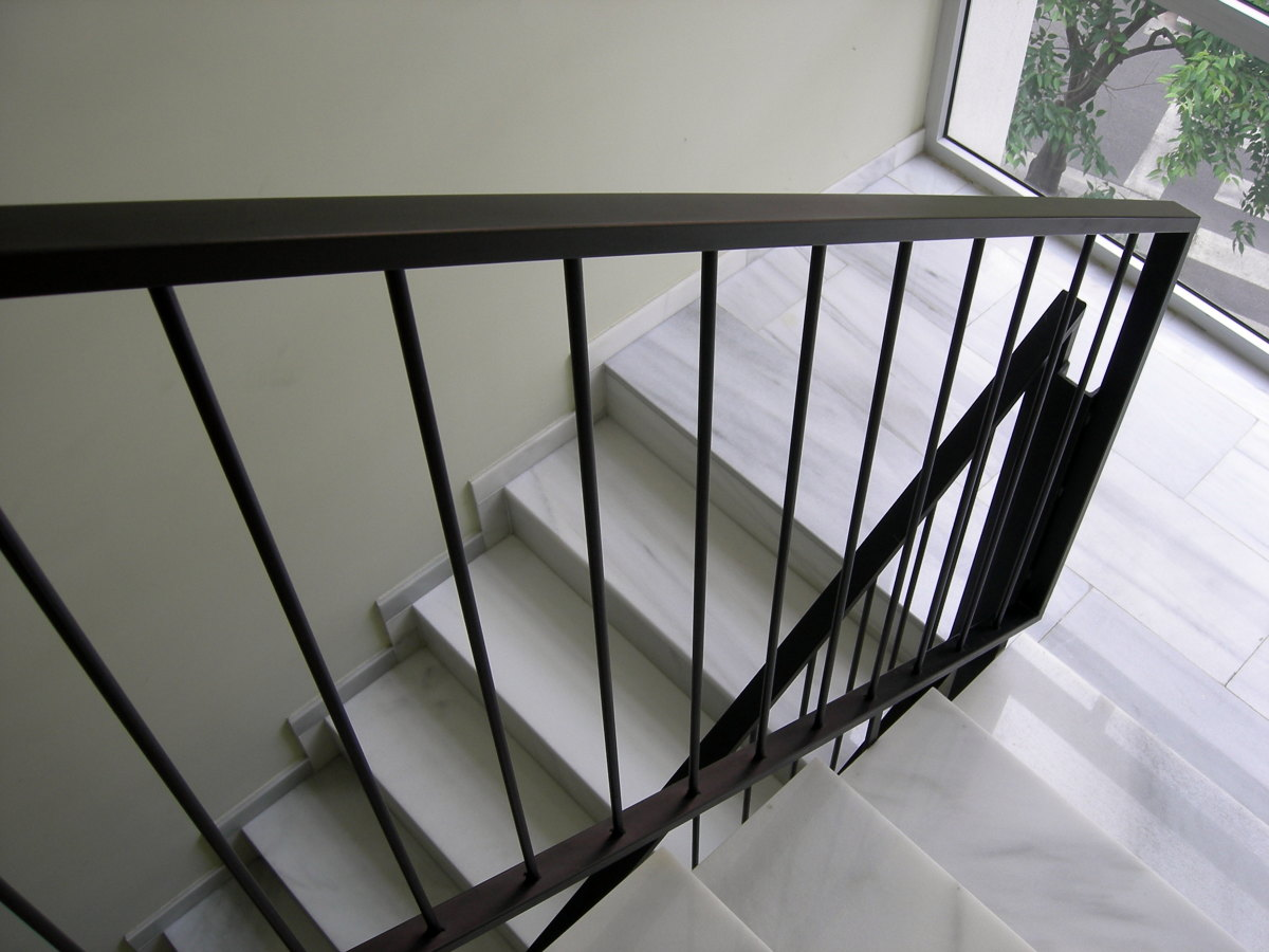 Foto barandilla interior de hierro de gustaman s l for Barandillas escaleras interiores precios