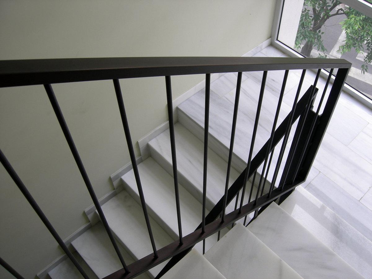 Foto barandilla interior de hierro de gustaman s l 272949 habitissimo - Barandilla escalera interior ...