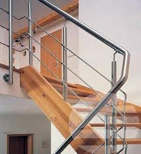 Foto barandilla de tubo de acero redondo de carpinteria - Tubo redondo acero ...